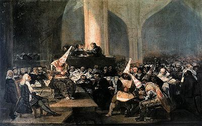 The Inquisition Tribunal (1812-1819) Francisco de Goya y Lucientes: Last of the old masters, first of the new