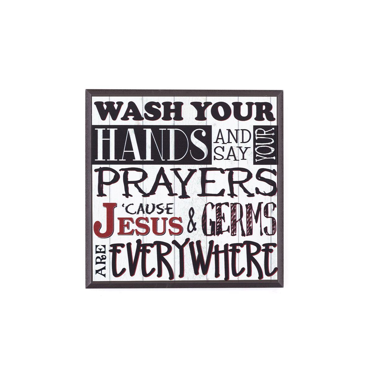 Jesus Is Everywhere Plaque