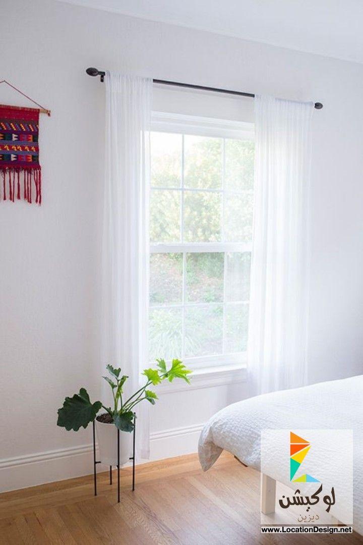 ستائر غرف نوم باللون الابيض 2015   ستائر   Pinterest   Bedrooms