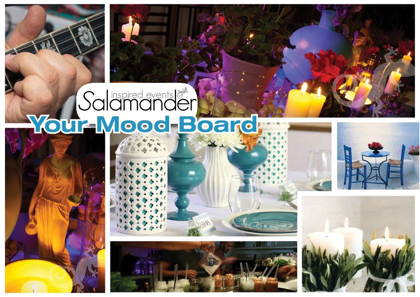 A Greek Island themed party or event, any day!
