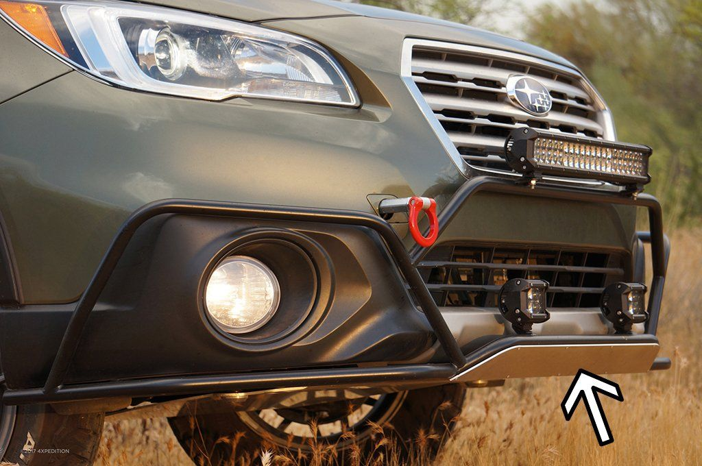 Front Plate Outback Big Bumper Guard Option Subaru Outback Subaru Outback Offroad Subaru Crosstrek