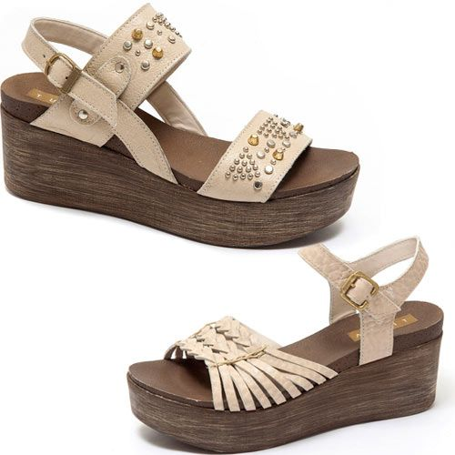 3f28b1cb2 Traza Sandalias Verano 2017 - Moda Argentina en Zapatos de Cuero - El Bazar