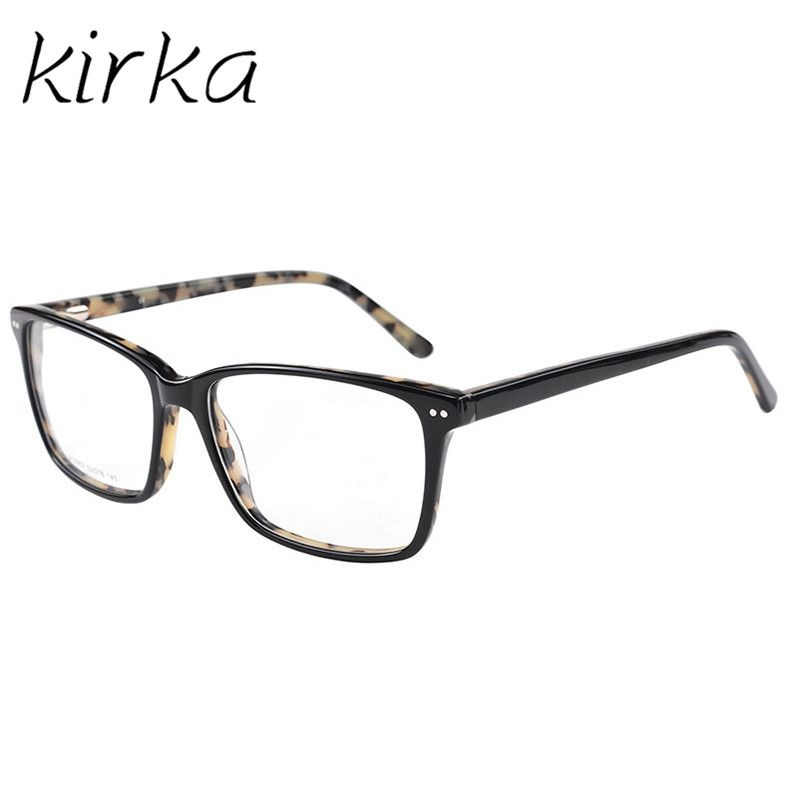 Kirka Fashion Women Acetate Eyeglasses Frames Men Brand Acetate ...