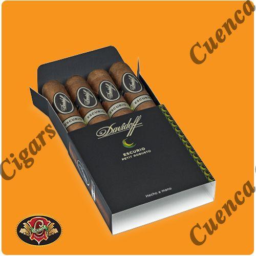 Davidoff Escurio Petit Robusto Cigars - Box of 4 - Price: $33.90