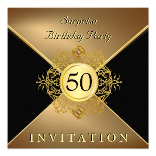 20 Surprise 50th Birthday Party Invitations Ideas 50th Birthday Party Invitations Surprise 50th Birthday Party Birthday Party Invitations