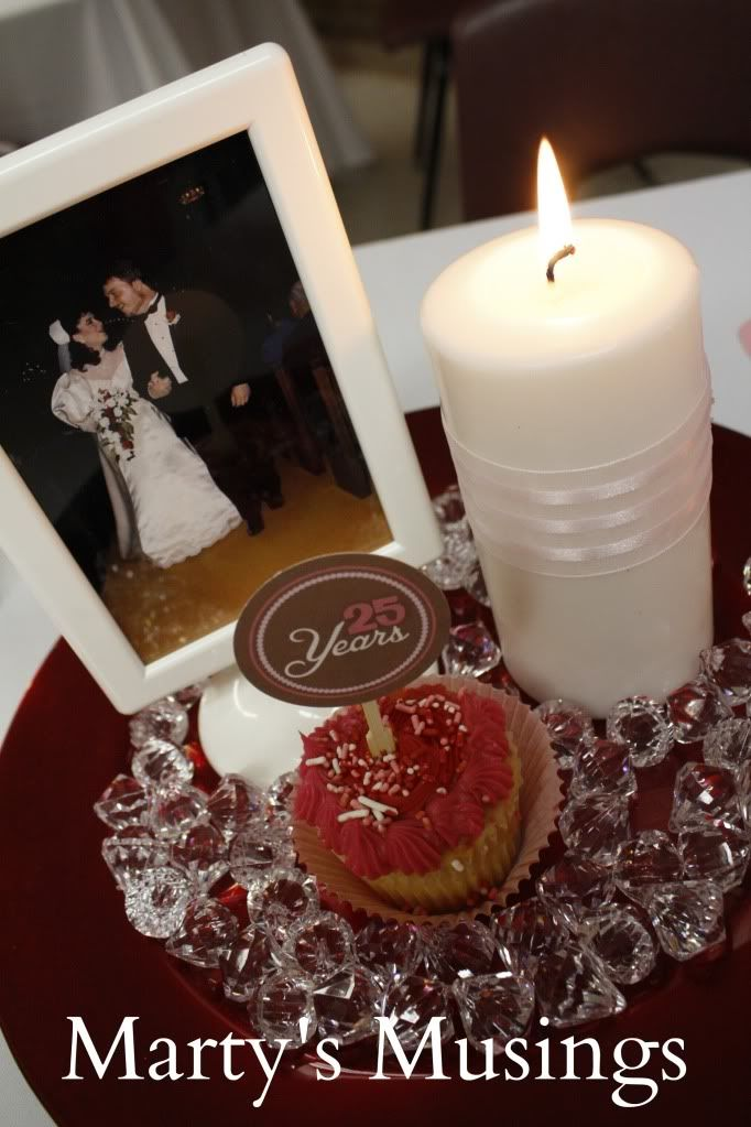 25 year wedding anniversary party decor ideas for 25th anniversary decoration