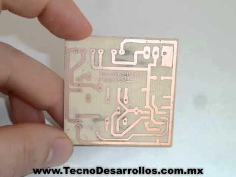 Realiza circuitos impresos de manera profesional con las hojas de transferencia de Steren modelo PNP-010.