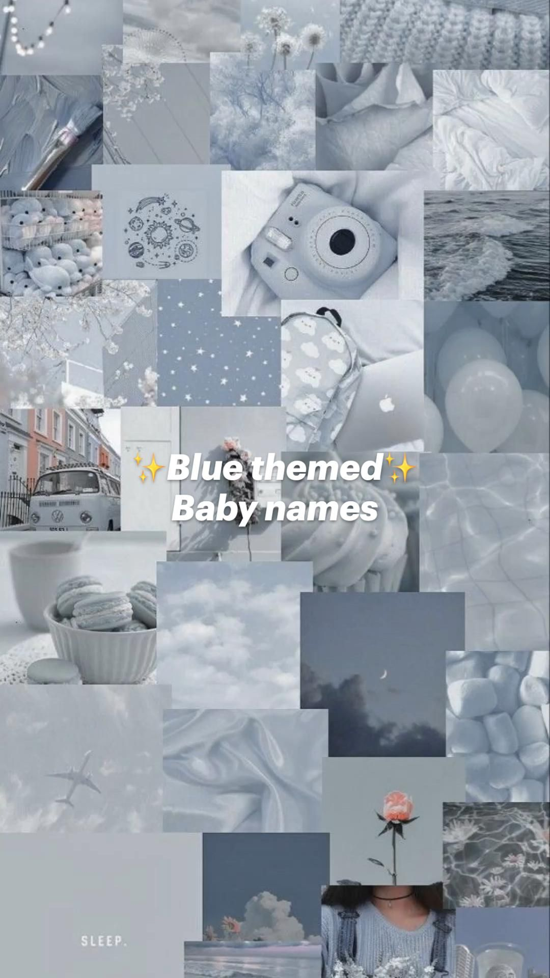 ✨Blue themed✨ Baby names
