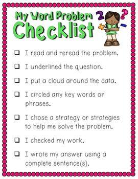 Math Problem Solving Strategies Problem Solving Strategies Math