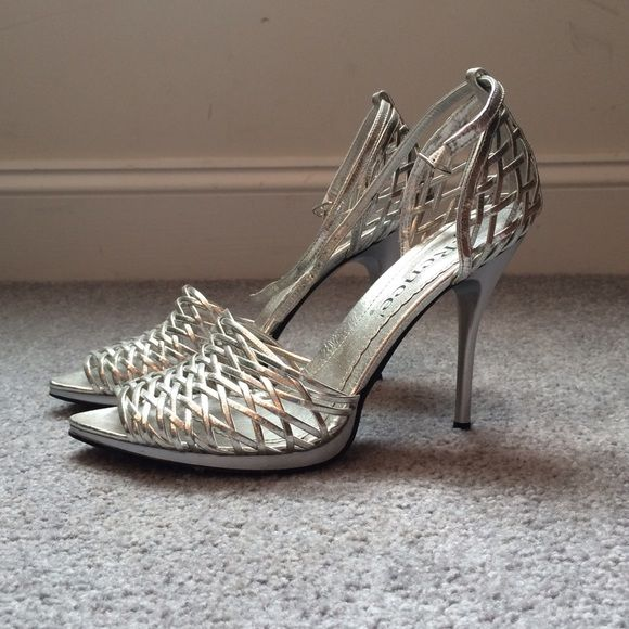 💚 J. Renee silver Heels | Silver heels, Shoes heels and Couples