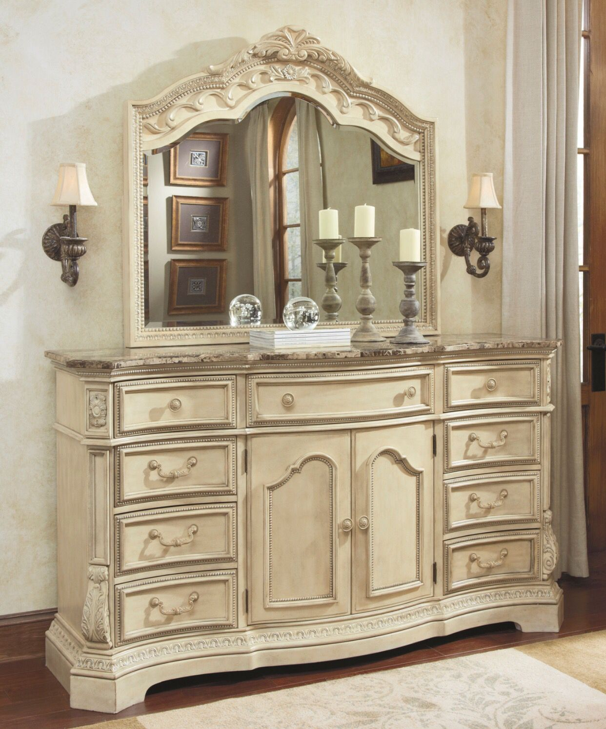 Best Ashley Furniture Ortanique Dresser B707 31 Dresser With 400 x 300