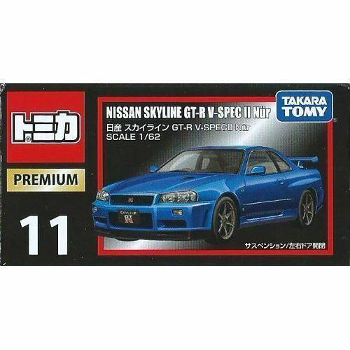 Tomica Tomica premium 11 Nissan Skyline GT-R V-SPEC2 Nur From Japan