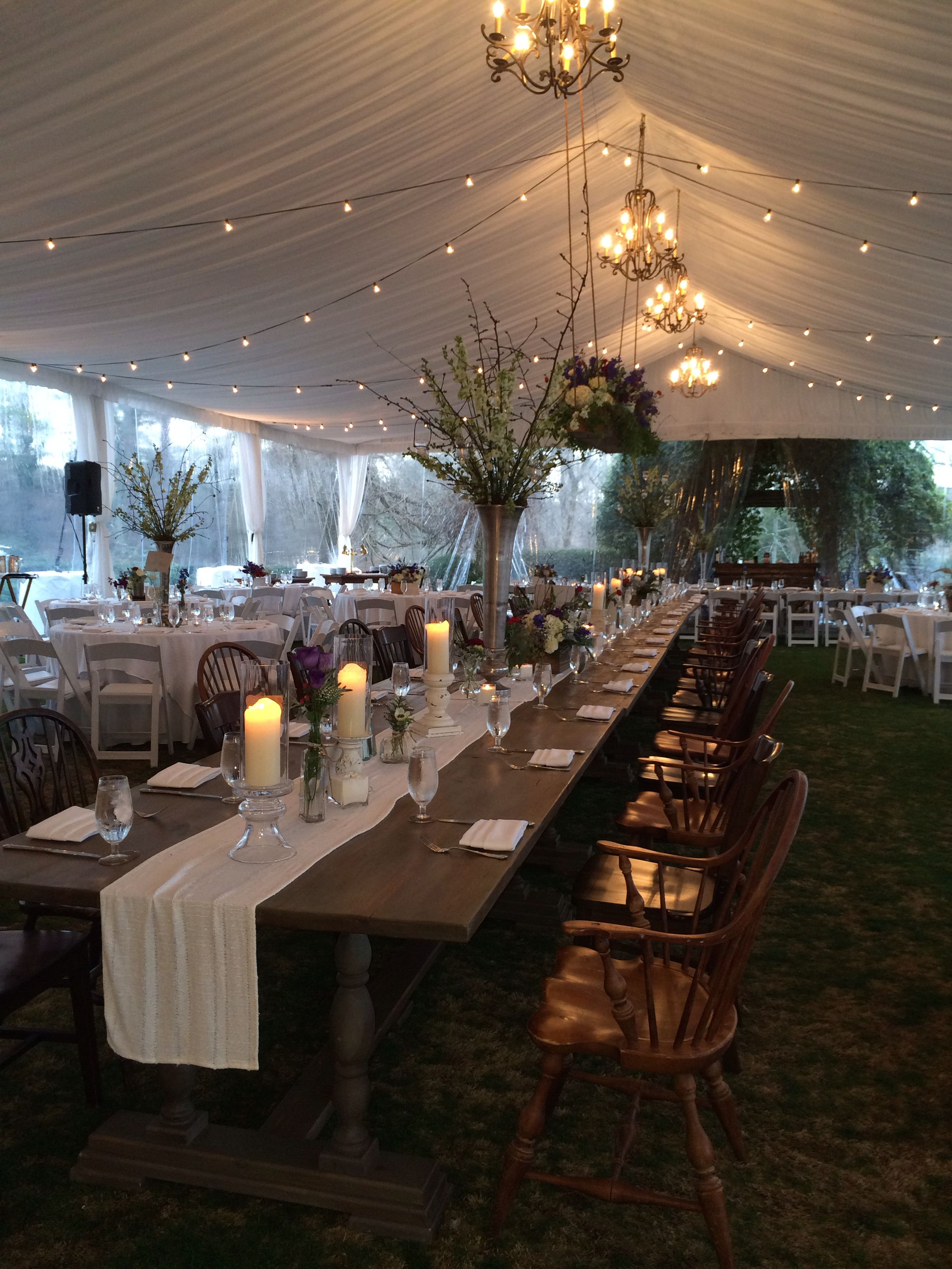 How to Set Up a Head Table | Our Everyday Life  |Outdoor Wedding Reception Head Table