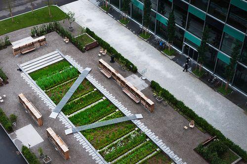 mindyourgarden:  Physic Garden at Novartis, Basel This Physic...