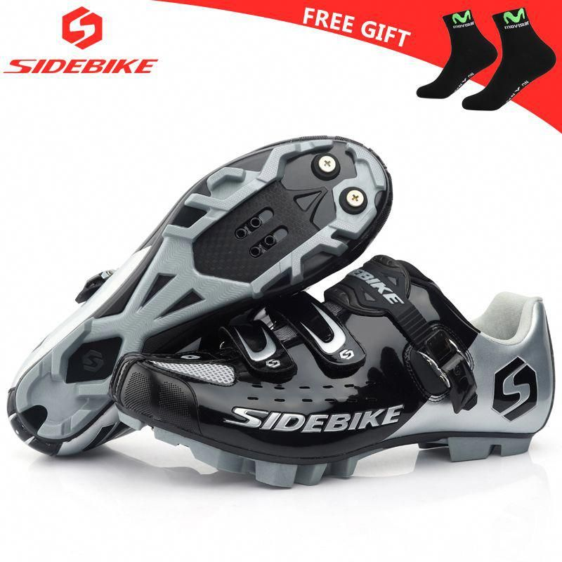 sidebike mtb cycling shoes  man women self-locking bicycle shoes racing sneakers