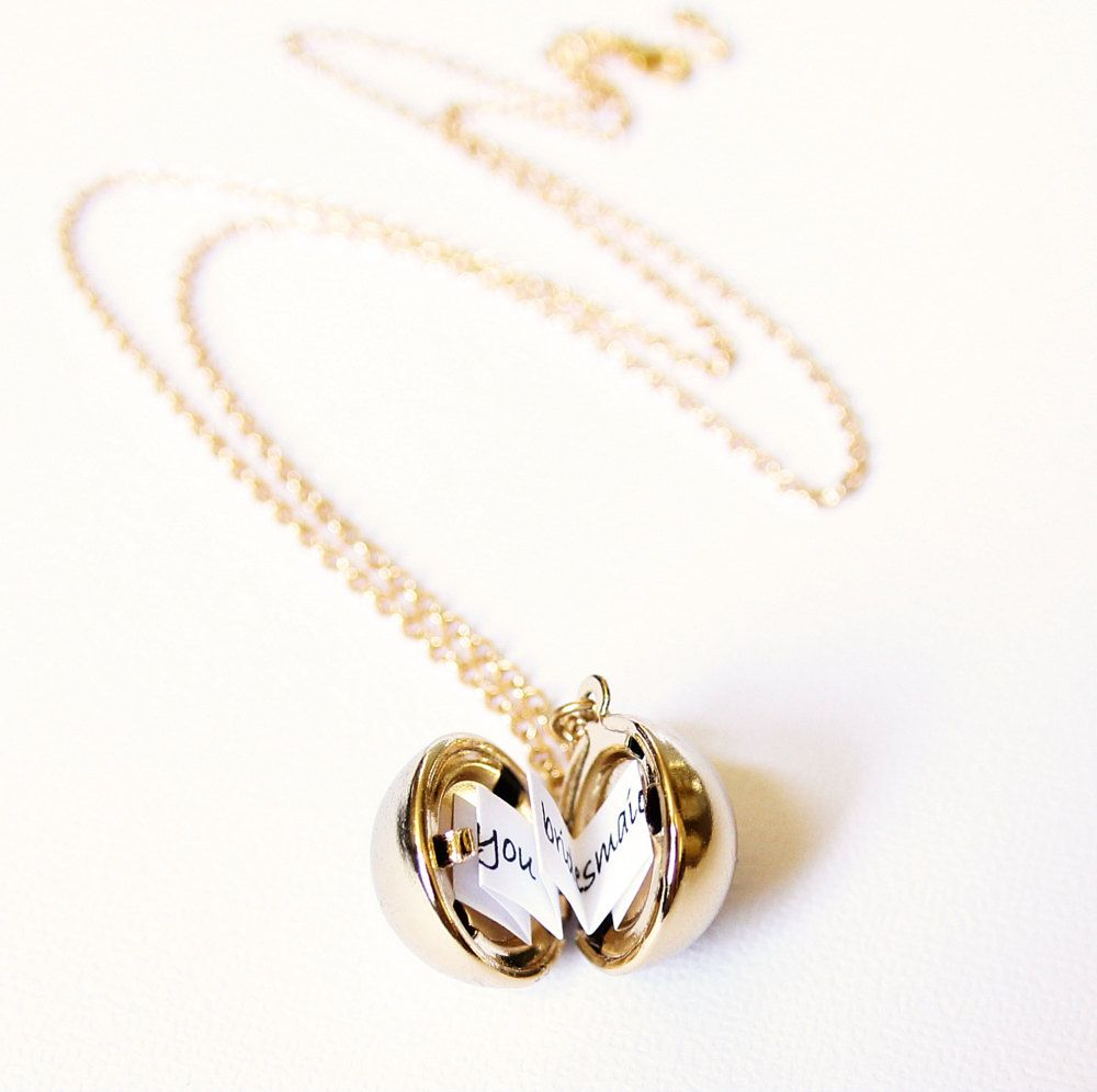 honey original secret locket lockets by madisonhoneyvintage product ball message madison orb classic vintage necklace
