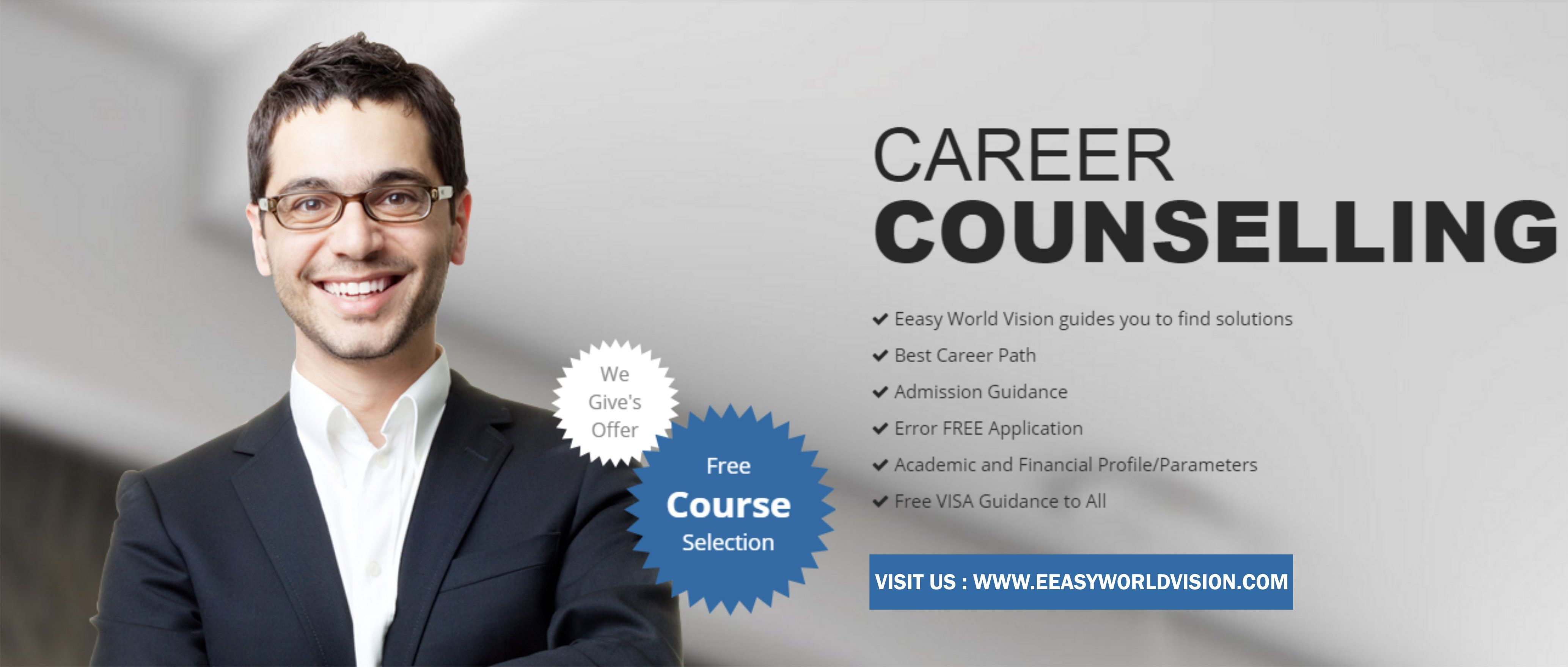 Free Study Career Counselling By Our Expert Call For Appointment 88662 44440 Career Counseling Counseling World Vision