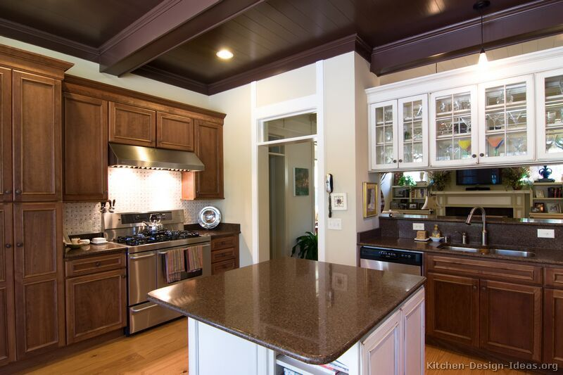 Kitchen Design Idea Glamorous 35 Two Tone Kitchen Cabinets To Reinspire Your Favorite Spot In Review