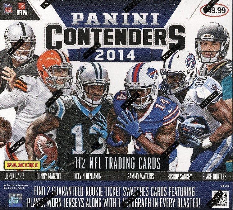 2015 PANINI CONTENDERS Football Hobby Box Blowout cartes