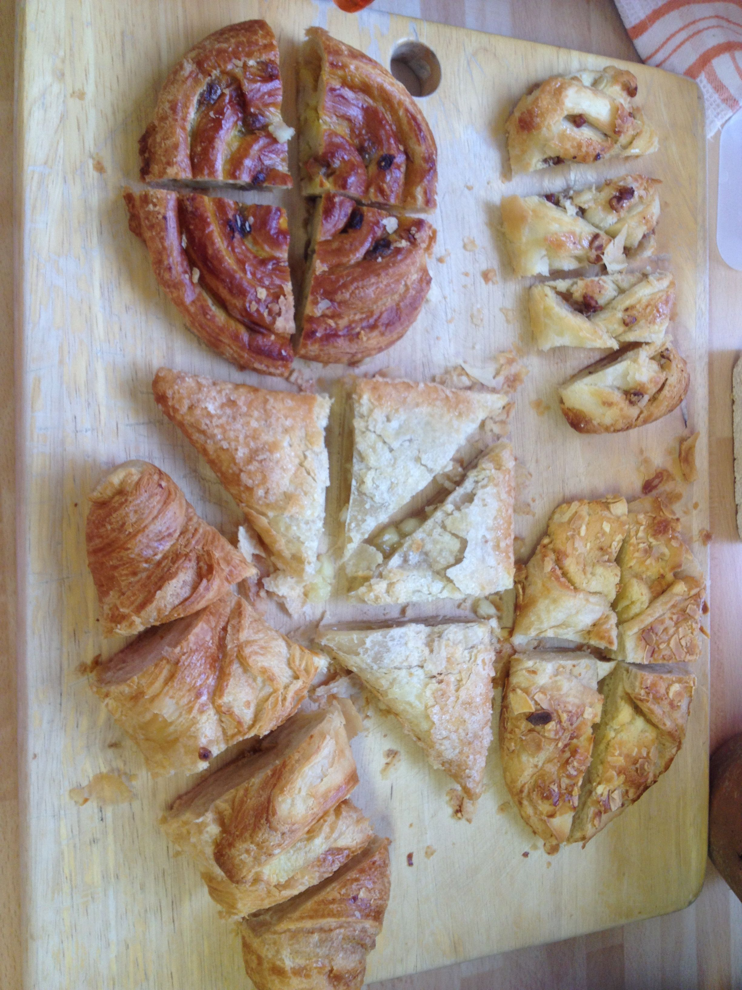 Pastry feast!
