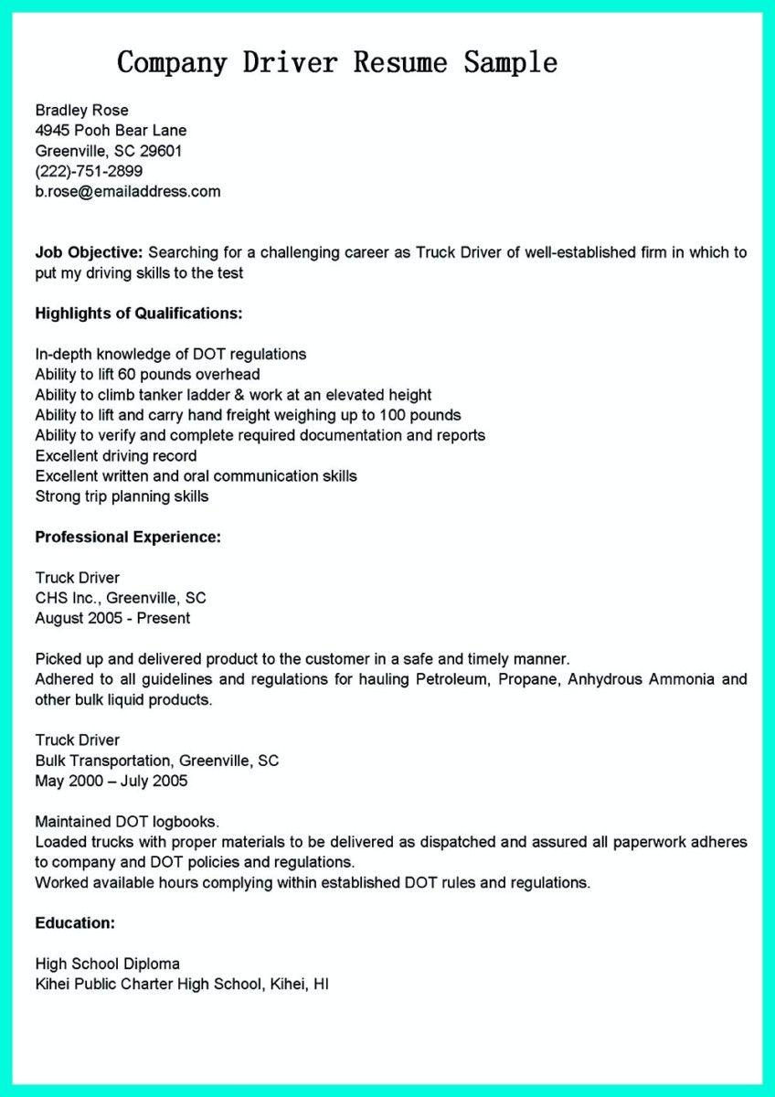 cdl driver resume nfgaccountability driver resume classy cdl