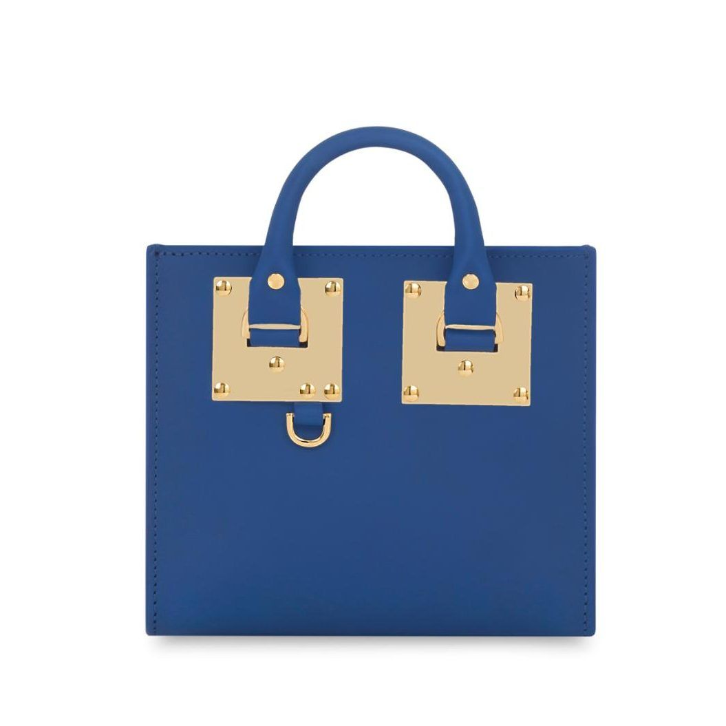 Why it's worth it: Sophie Hulme's chic £450 box bag
