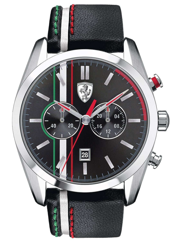 Scuderia Ferrari 0830237 D50 Chronograph Mens Watch Watches For Men Ferrari Watch Leather Watch