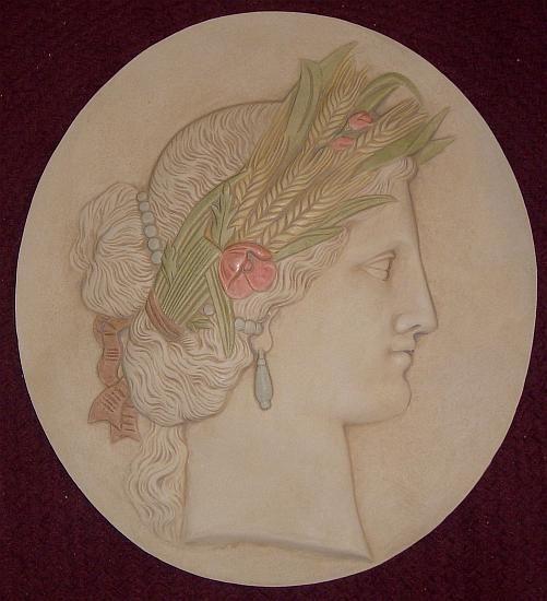 Autumn: Demeter, goddess of the harvest