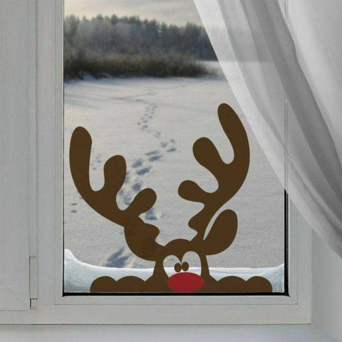 Décoration fenêtre Noël - 80 ambiances de conte de fée - Archzine.fr