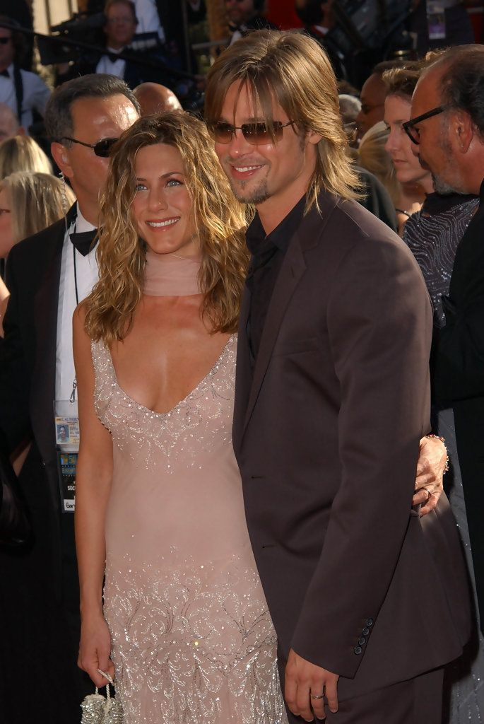 Jennifer Aniston And Brad Pitt Photos Photos The 54th Annual Emmy