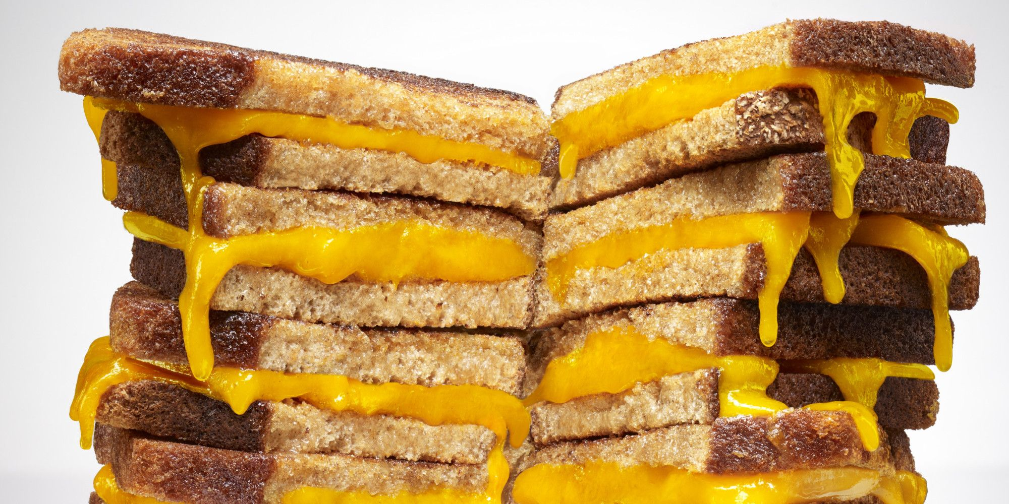 This is the best tip to make grilled cheese for a crowd. Skip the skillet, and bake them in the oven