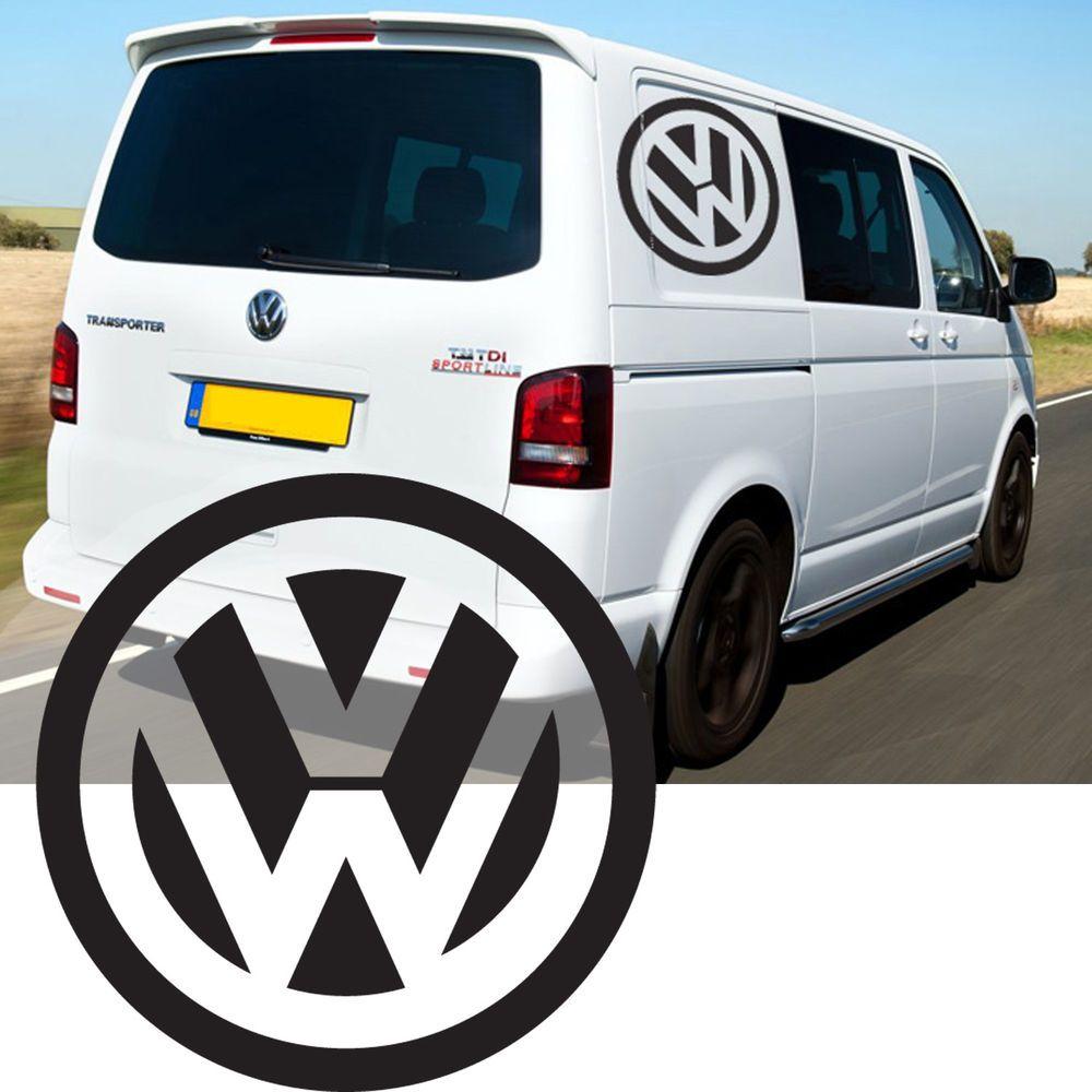 Details about VW Transporter Camper Van Caravelle Stripes