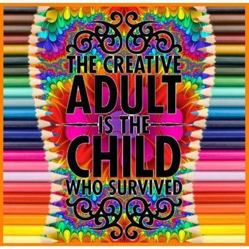 creative adult child