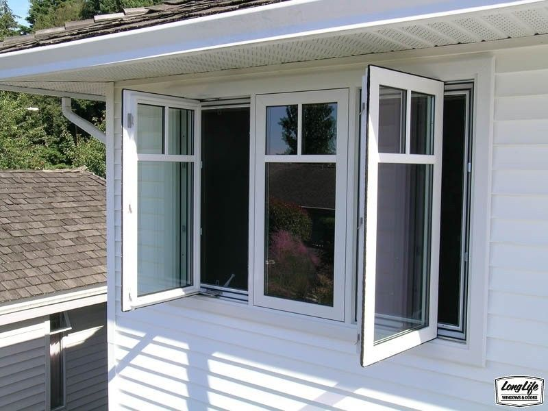 3 panel window glass arch aluminum window panel triple aluminium casement with
