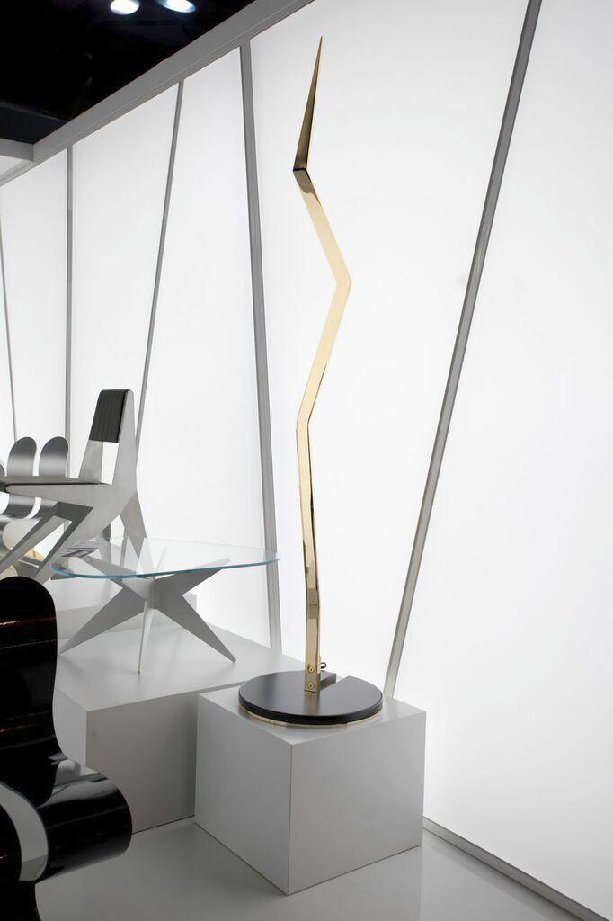 Floor standing lamp / contemporary / steel LAMPODA A by M.Pisani & A. Vitolo Lamberti Decor