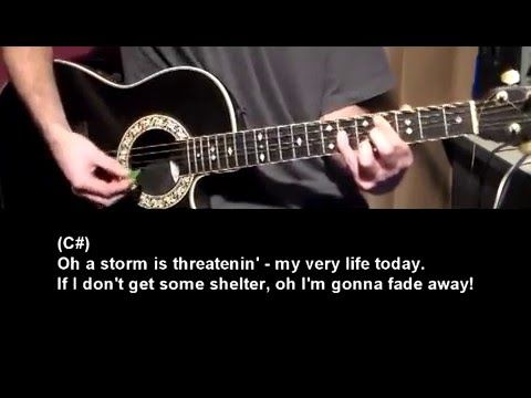 Gimme Shelter The Rolling Stones How To Play Beginner Guitar