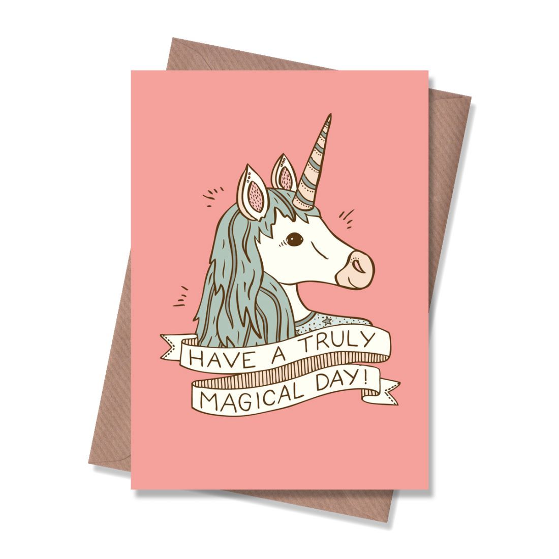 Magical Unicorn Greeting Card