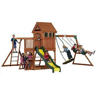 Montpelier Swing Set by Backyard Discovery | Swing set ...