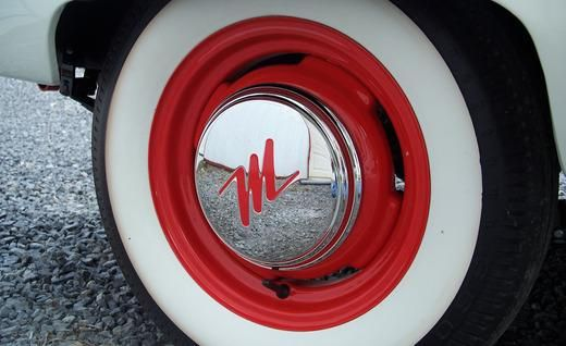 1957 Nash Metropolitan Hard Top Hub Cap My Nash Cars Hood