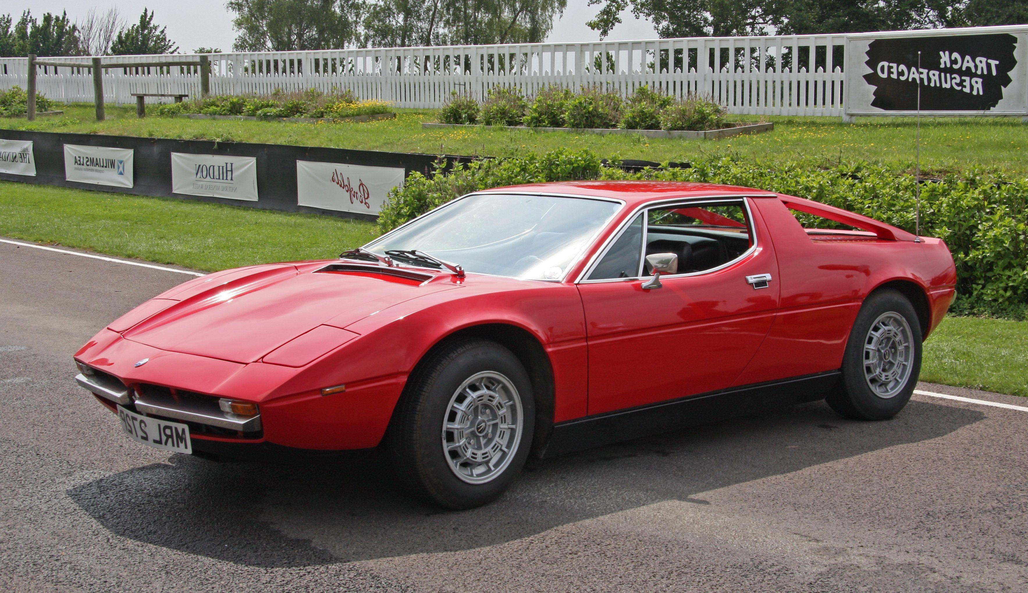 1974 Maserati Bora 4.9 | Maserati bora, Maserati, Classic cars