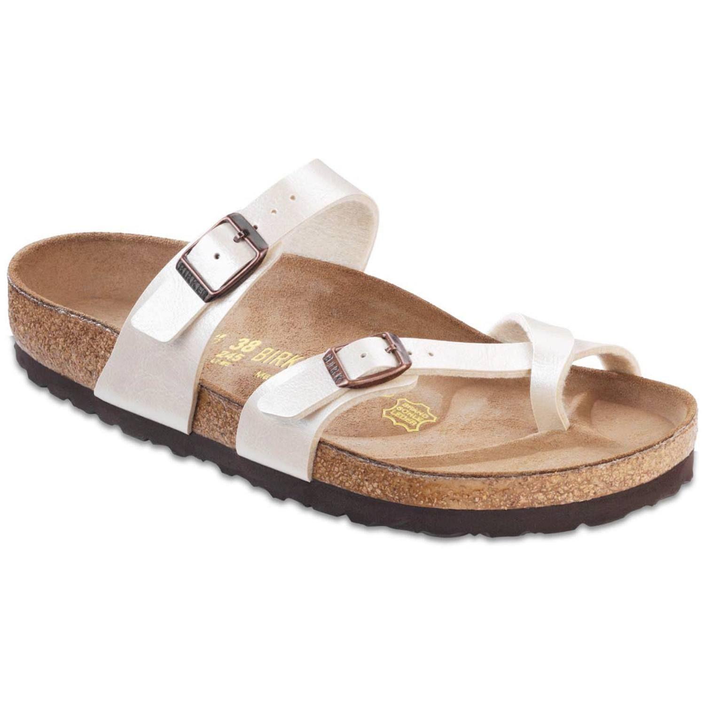 Zapatos blancos casual Birkenstock Madrid para mujer YZsdtNRokr