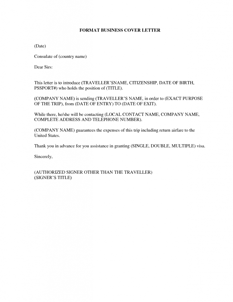 Business Plan Cover Letter Sample Letters Free Samples Examples