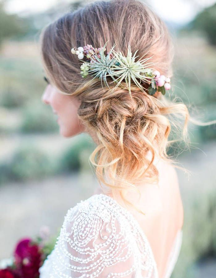 12+ Mariage coiffure boheme chic inspiration