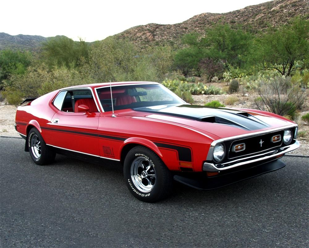 1972 ford mustang mach 1 fastback my first car except mine was yellow
