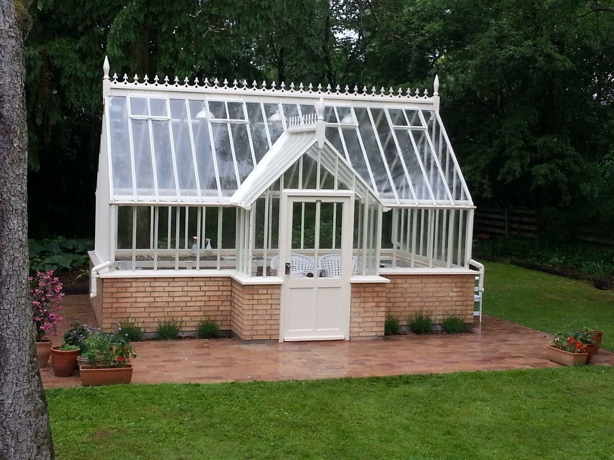 a 16ft x 10ft 5m x 3m plus porch by victoriangreenhousescom