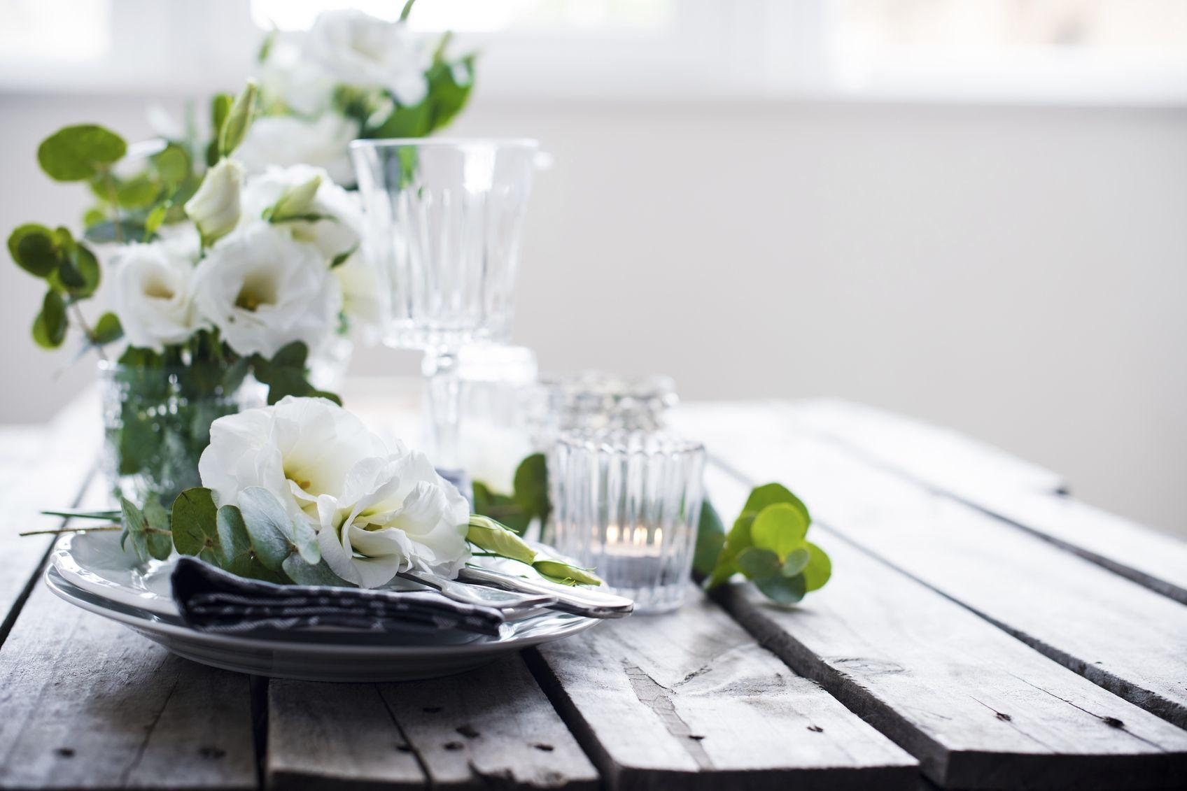 8 Schon Tischdekoration Ohne Blumen Deko