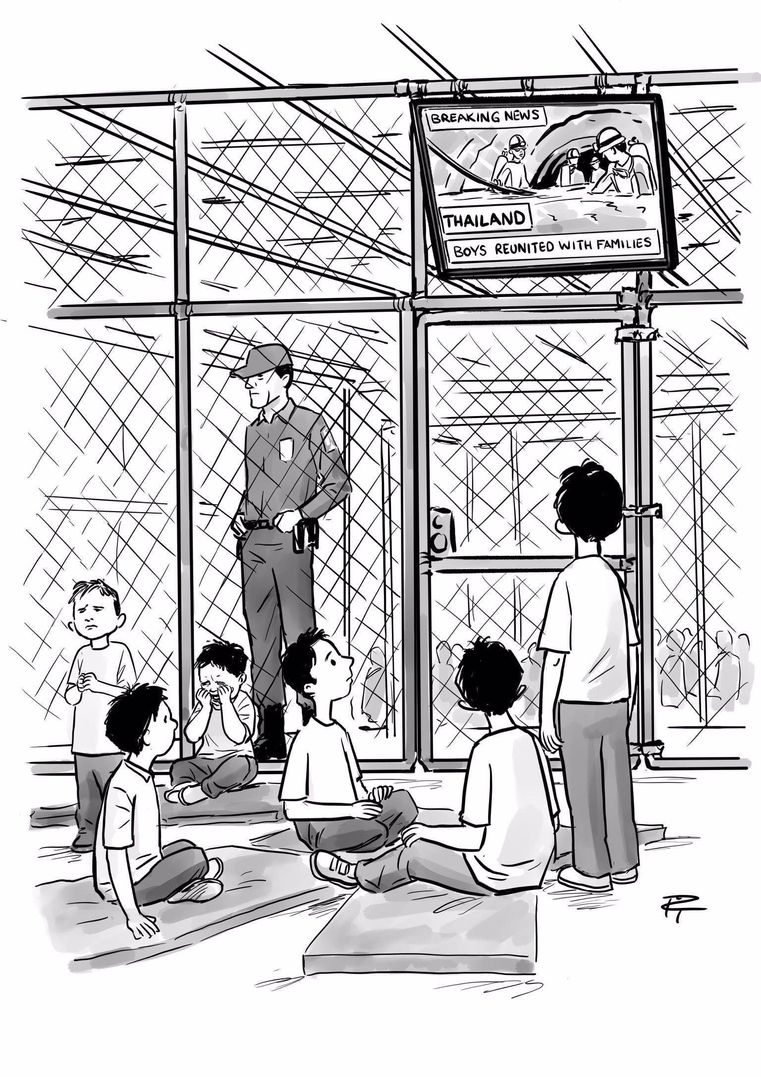 Image result for new yorker cartoon thai rescue