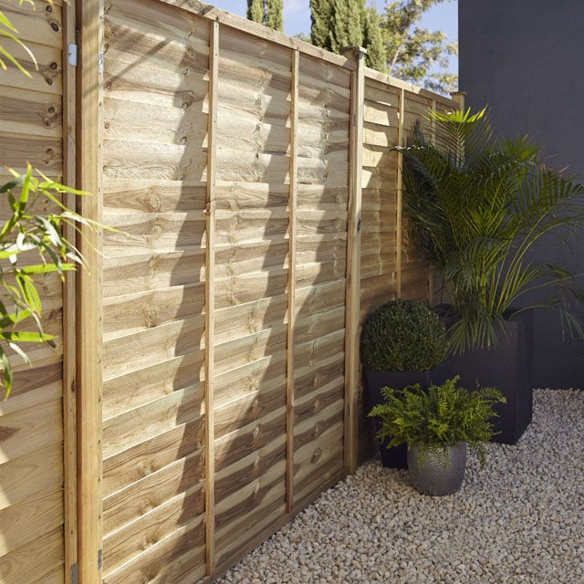 Cool panneau bois droit salouen x h cm castorama with panneau bois castorama - Castorama jardin bordure saint paul ...