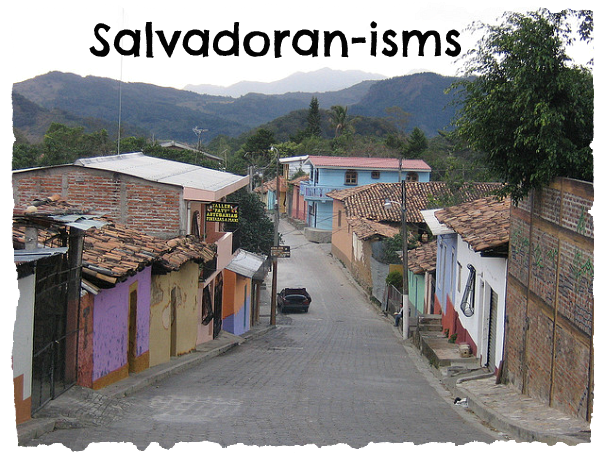 """My friend, Alexandra of Good Day Regular People, recently wrote about """"Colombian-isms"""" - I loved her hilarious post (check it out!) and she encouraged me to write my own post of """"Salvadoran-isms"""" -..."""