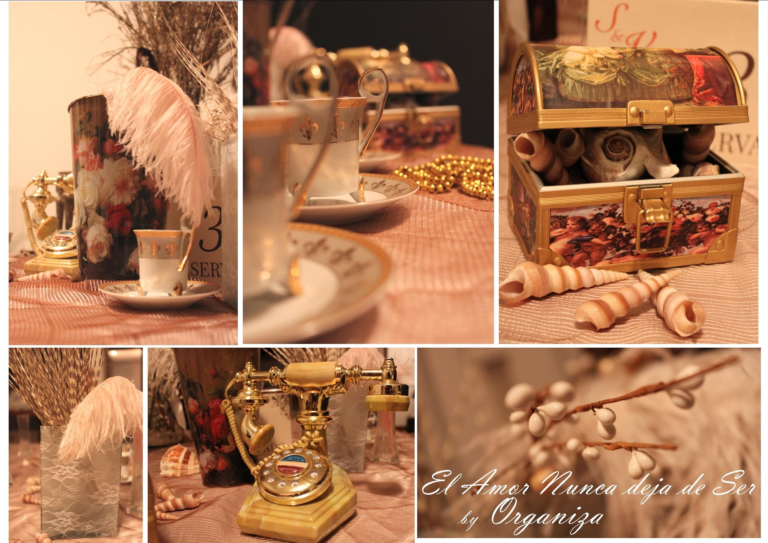 #Romantic  and #Vintage Elements #wedding